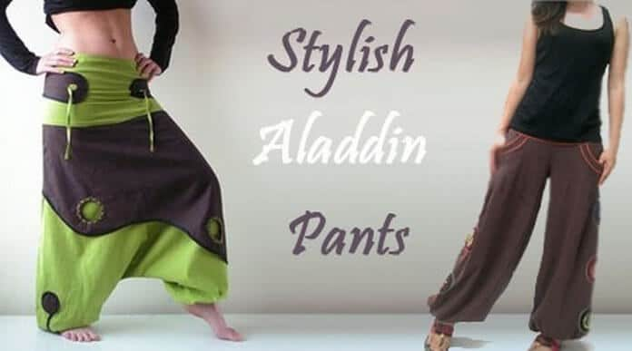 Stylish Aladdin Pants