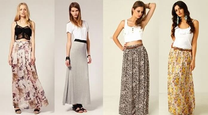 How to Wear Maxi Skirts