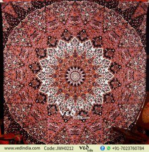 Bohemian Star Mandala Tapestry