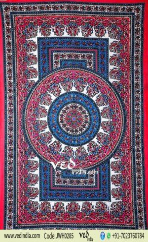 Indian Mandala Tapestry Wall Hanging