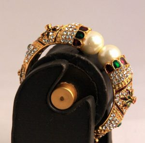 Indian Antique Multi-Color Fashion Bangles with Pearls-0
