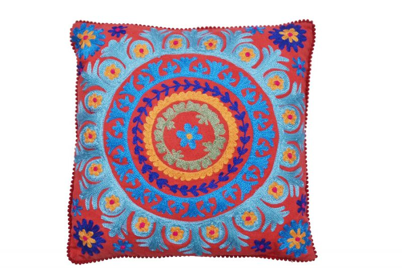 Royal Rich Hand Woven Decorative Cushion Covers With Colorful Design-0