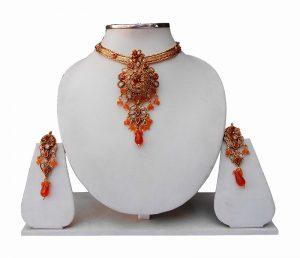 Buy Designer Fashion Pendant Set with Earrings for Women-0