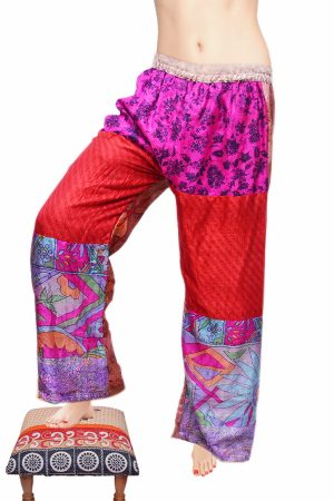 Shop Online Stylish Colorful Handmade Baggy Pants in Beautiful Designs-0