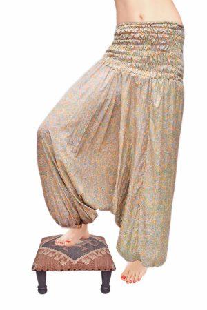 Stylish Designer Handmade Harem Yoga Pants With Patchwork Pattern-0