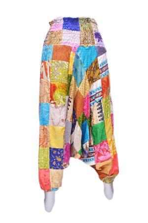 Stylish Multi Colored Thai Harem Pants With Beautiful Block Print-0