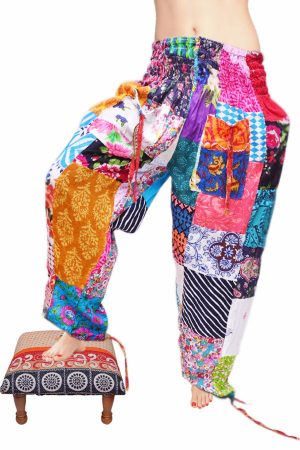 Designer Traditional Harem Pants Pattern for Women with Summer-0