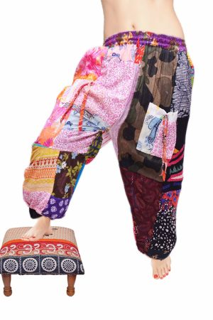 Buy Colorful Unique Gypsy Pants for Women with Beautiful Design-0