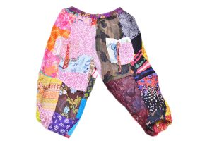Designer Colorful Unisex Drop Crotch Pants for Women From India-0