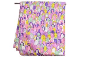 Classic Pink, Yellow And Multicolored Beautiful Cotton Bed Sheets-0
