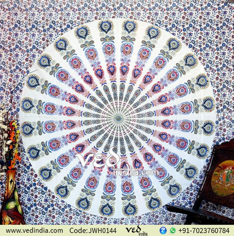 Bird Wings Beach Bohemian Tapestry