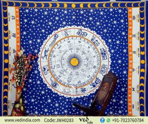 Bohemian Astrological Wall Tapestry