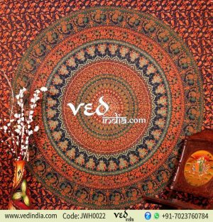 Boho Indian Dorm Bedroom Tapestry