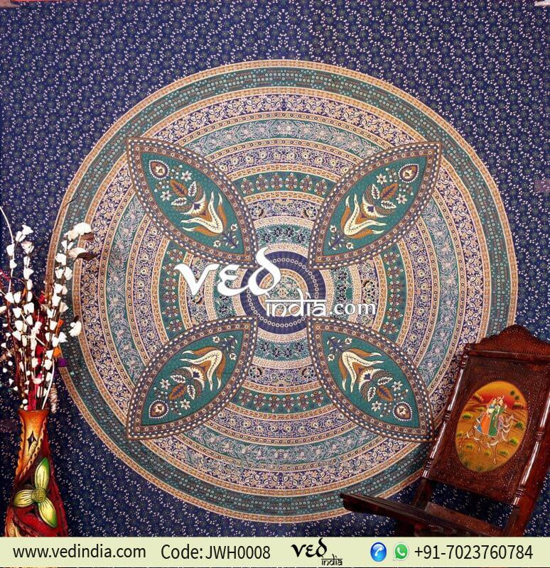 Boho Mandala Psychedelic Tapestry