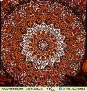Indian Star Mandala Bohemian Tapestry