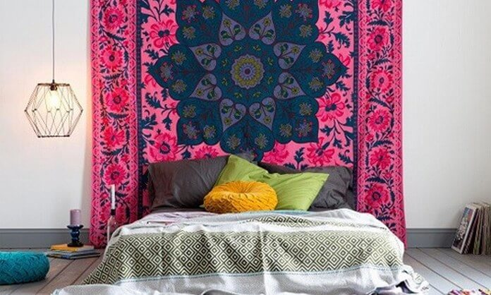 decor hippie bedroom tapestry