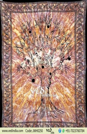 Tree of Life Tapestry Bedspread