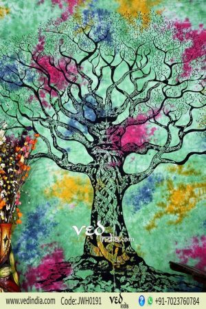 Green Tree of LifeTapestry