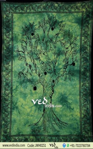 Tree of Life Wall Tapestry from India