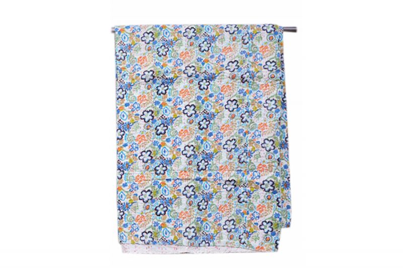 Buy Designer Wholesale Printed Bed Covers With Flower Patterns-0