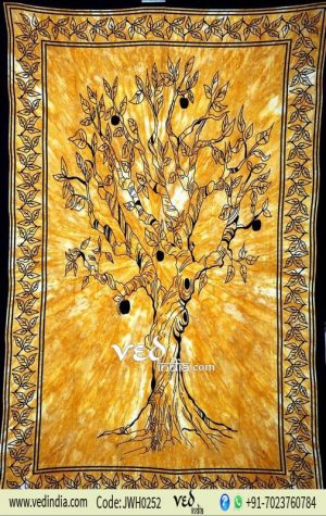 Tree of Life Tapestry from India
