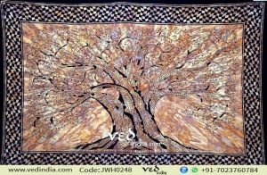 Tree of Life Tapestry in Brown Color