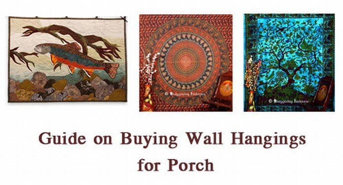 Buying Wall Hangings for Porch