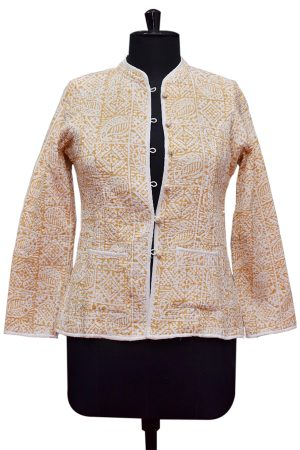 Buy Online Designer Beautiful Party Wear Quilted Jackets for Ladies-0