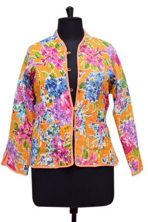 Designer Indian Traditional Quilted Jackets With Magnificent Quality Fabric-0