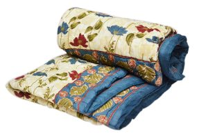 Designer Beautiful Modern Quilts With Attractive Floral Design From India-0