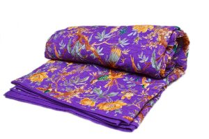 Beautiful Purple Cotton Fashion Quilts With Magnificent Designs-0