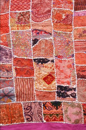 Beautiful Designer Indian Ethnic Handmade Quilts From India-0