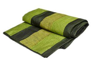 Designer Green And Black Color Handmade Modern Quilts-0