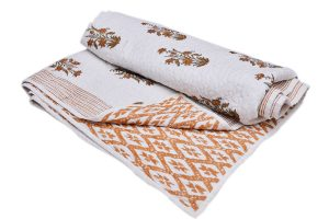 Latest Designer Indian Fashion Bed Quilts With Different Patterns-0