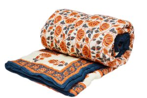 Designer Traditional Indian Patchwork Quilts in Colorful Patterns-0