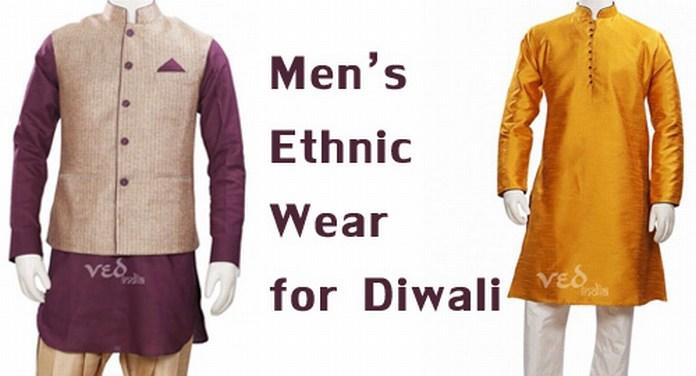 Mens Indian Ethnic Wear for Diwali