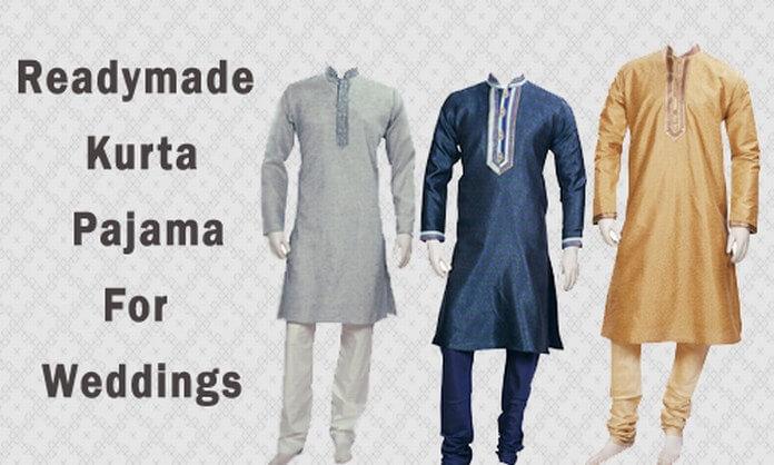 Designer Mens Readymade Kurta Pajama