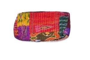 Colorful Hand Crafted Designer Zip Pouches With Gorgeous Designs-0