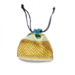 Buy Online Designer Yellow Handmade Potli Bags for Weddings-0