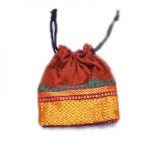 Designer Wholesale Traditional Indian Potli Bag With Embroidery-0