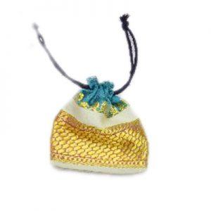 Shop Online Designer Traditional Indian Potli Bag in Yellow Color-0