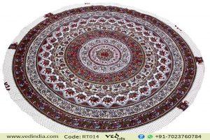 Elephant Roundie Mandala Tapestry