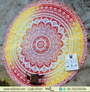 Roundie Beach Throw Yoga Mat