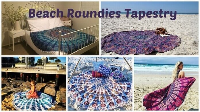 Round Beach Towels Tapestry