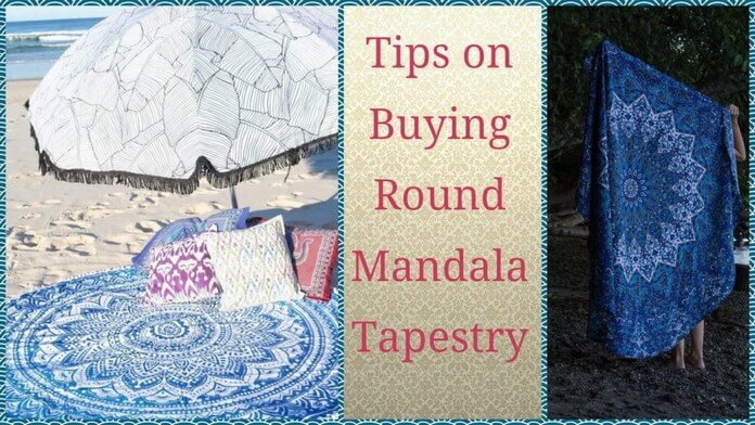 Buying Round Mandala Tapestries