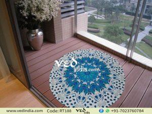 Beach Round Rugs Tapestry Bohemian Mandala Throw-0