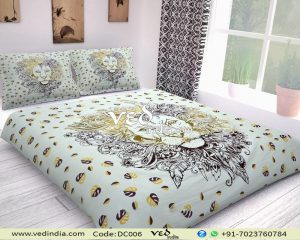 Indian Bohemian Chic Bedding Set With Lion Print Comforters-0