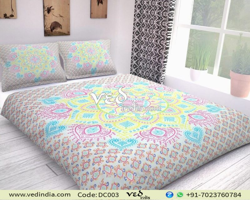 Bohemian Duvet Covers king Twin Ombre Design Bedding Sets-0