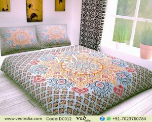 Bohemian Bedding Set Cheap Ombre Print Duvet Bed Covers-0