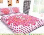 Floral Medallion Comforter Bedding Collection Hot Pink-0